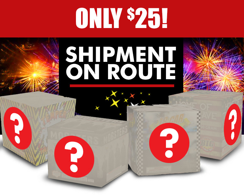 ONLY $25! Shipment on Route