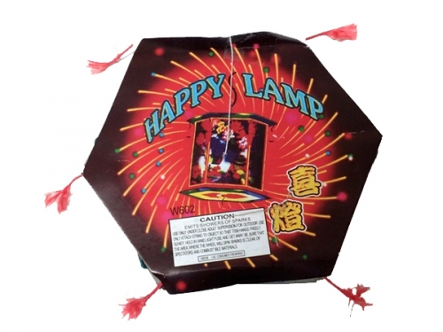 Hooksett Fireworks, Inc. HAPPY LAMP (Small)