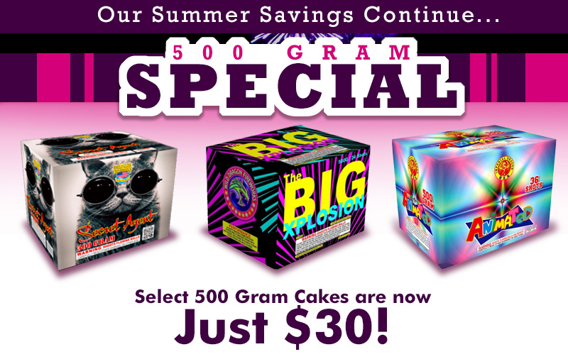 500 Gram Special!